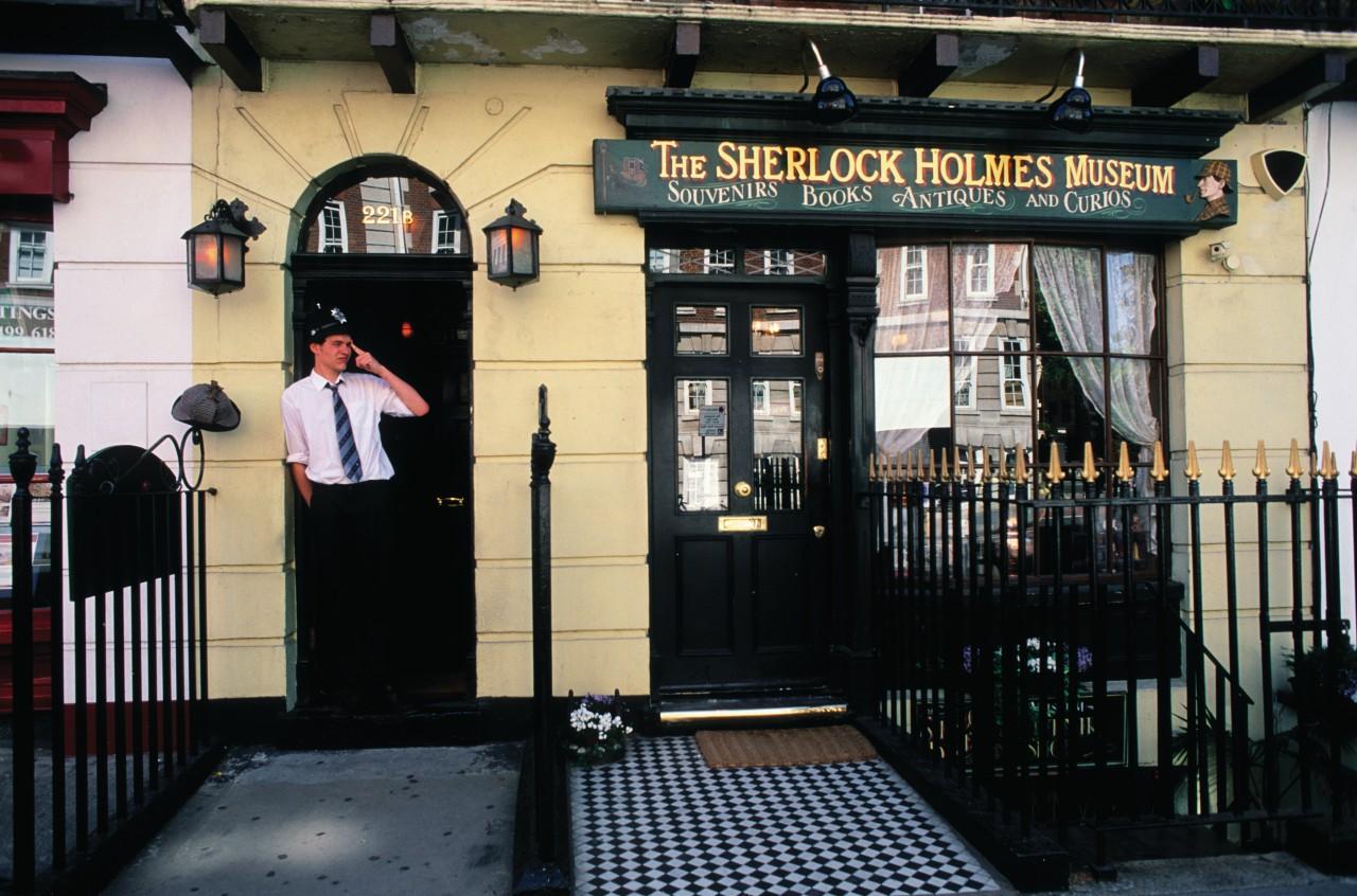 Sherlock Holmes Museum à Baker Street, quartier de Marylebone. (© Philippe GUERSAN - Author's Image))