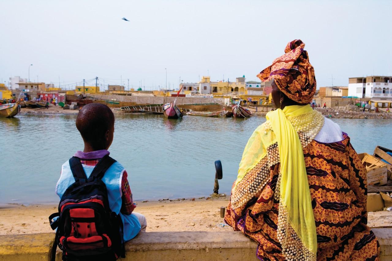 Guet-Ndar, village de pêcheurs. (© Author's Image))