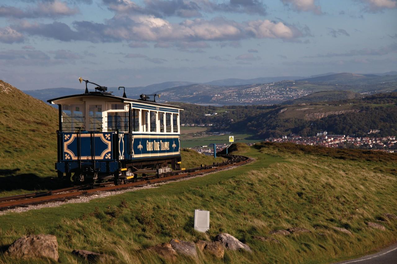 Tramway du Great Orme (© Gail Johnson - Fotolia))