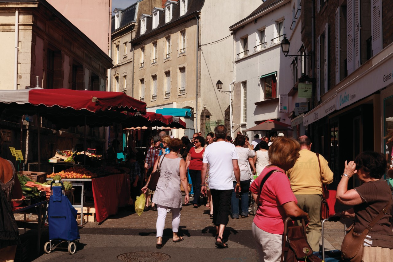 Rue de la vieille ville de Vannes. (© Irène Alastruey - Author's Image))