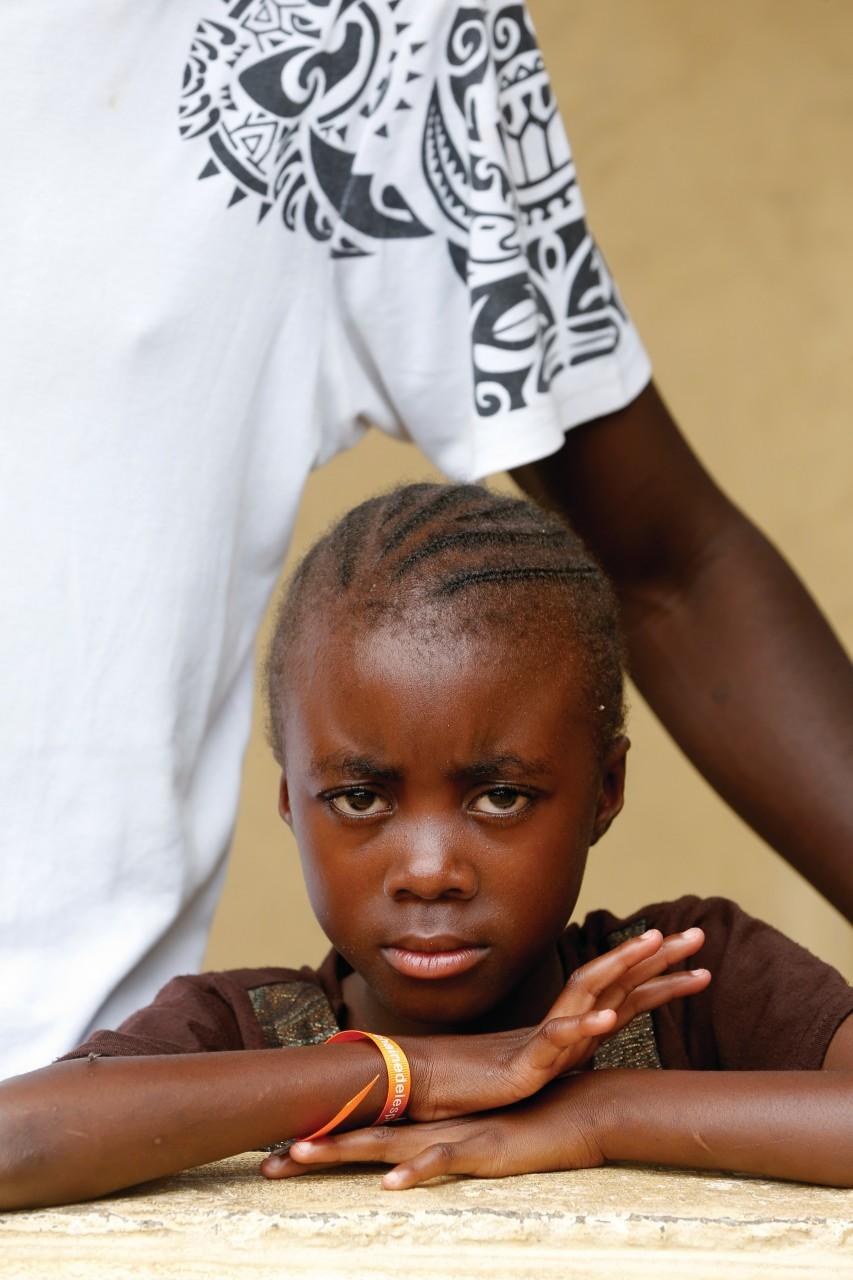 African girl. Brazzaville. Congo. (© Pascal Deloche))