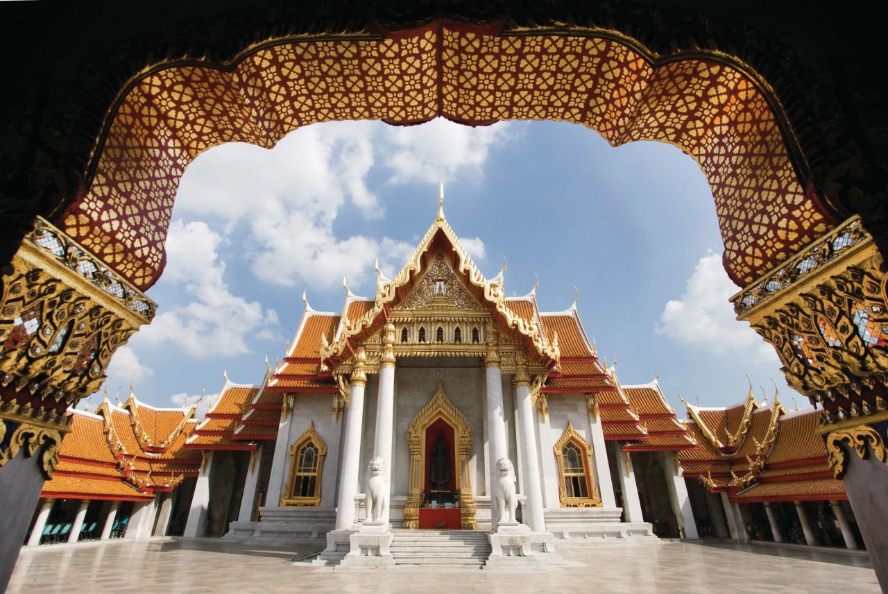 Wat Benchama Bophit. (© Prapass Wannapinij - Fotolia))