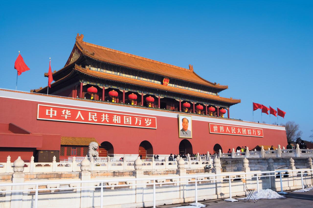 Puerta Tiananmen
