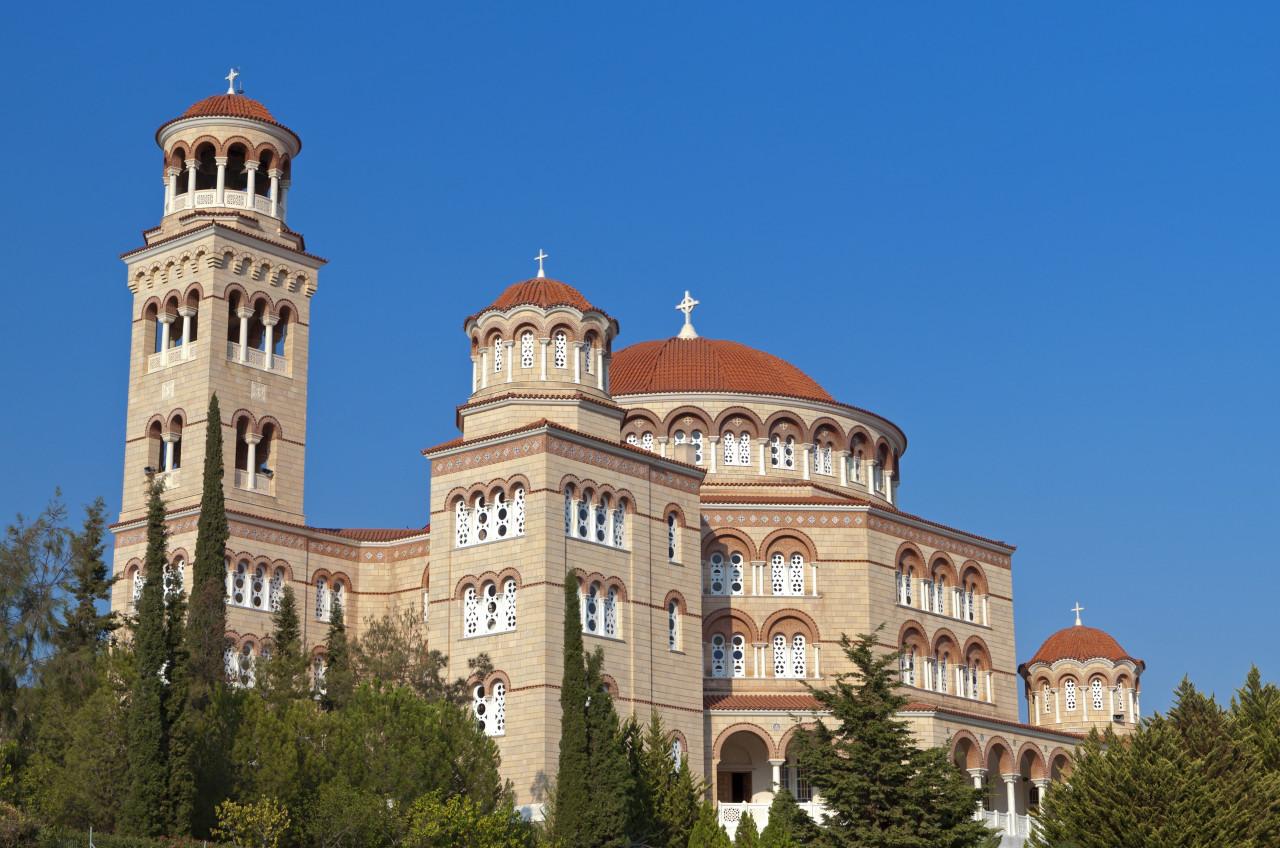 Eglise Agios Nektarios, Malia. (© Panos))
