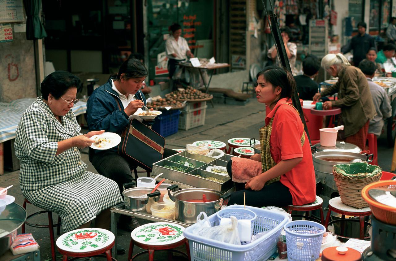 Marché de Pak Khlong. (© Author's Image))
