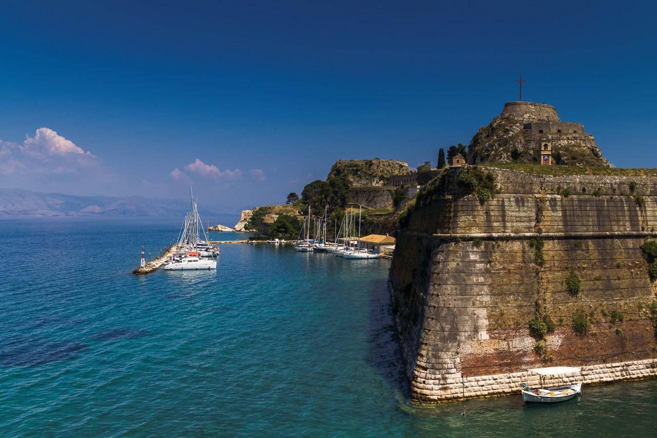 La vieille forteresse de Corfou. (© Nemo1963))