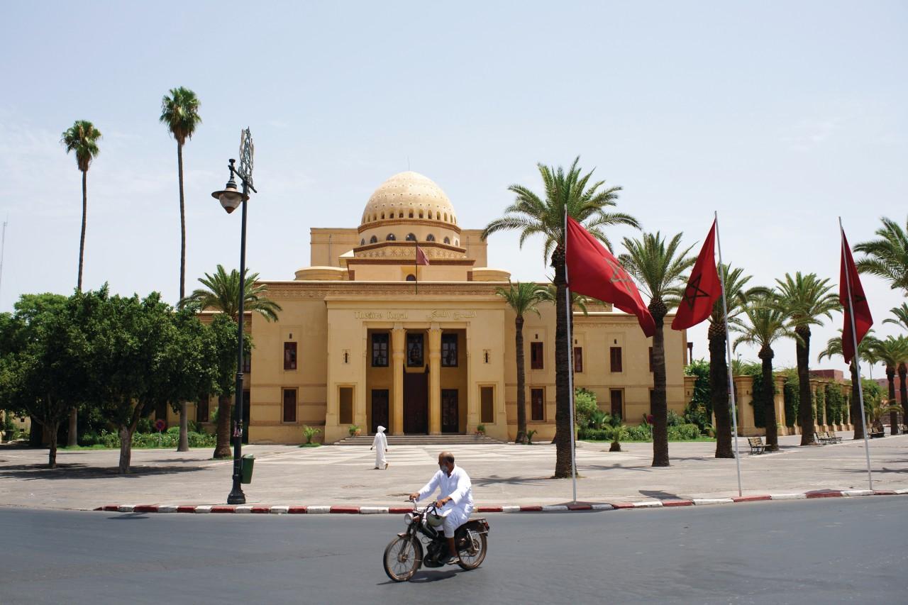Le théâtre de Marrakech. (© Sébastien CAILLEUX))