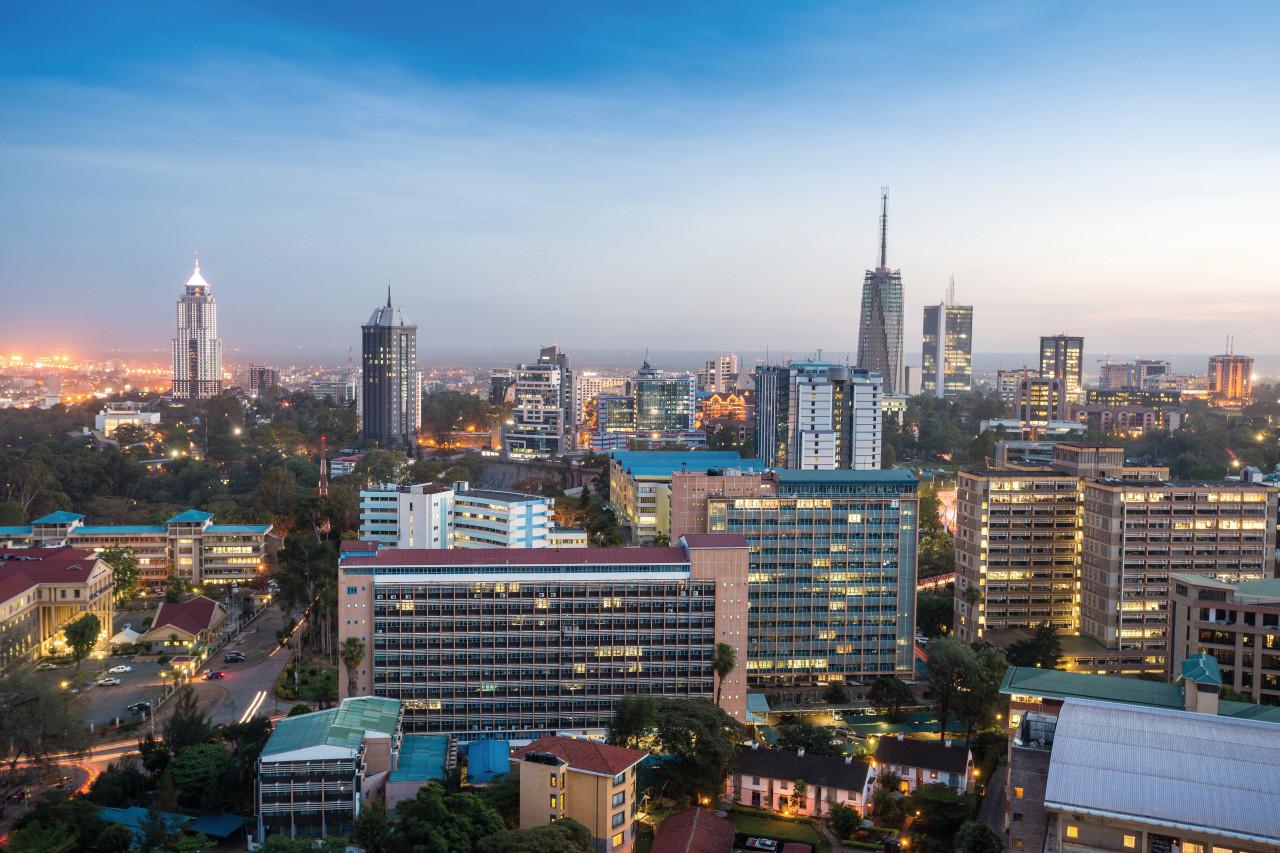 Vue de Nairobi. (© Jacek_Sopotnicki))