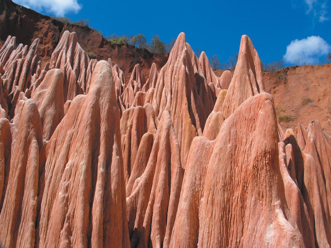 Rouges red Tsingy near Antsiranana