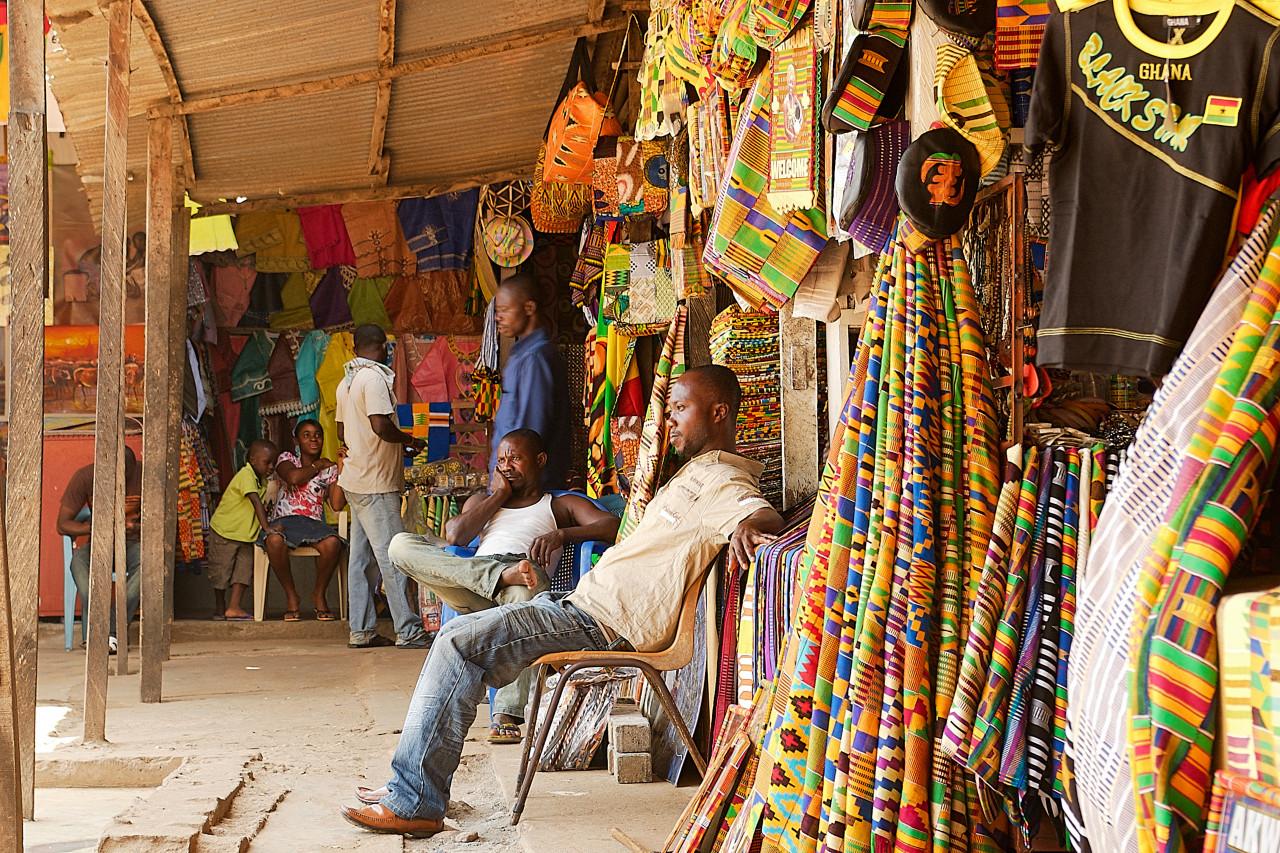 Marché d'Accra. (© EiZivile / Shutterstock.com))