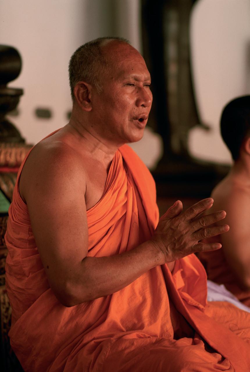 Bonze au Wat Pho. (© Author's Image))