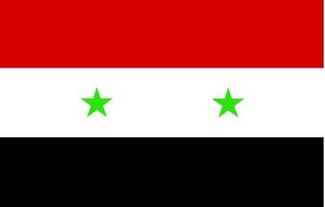 Drapeau Syrie.)