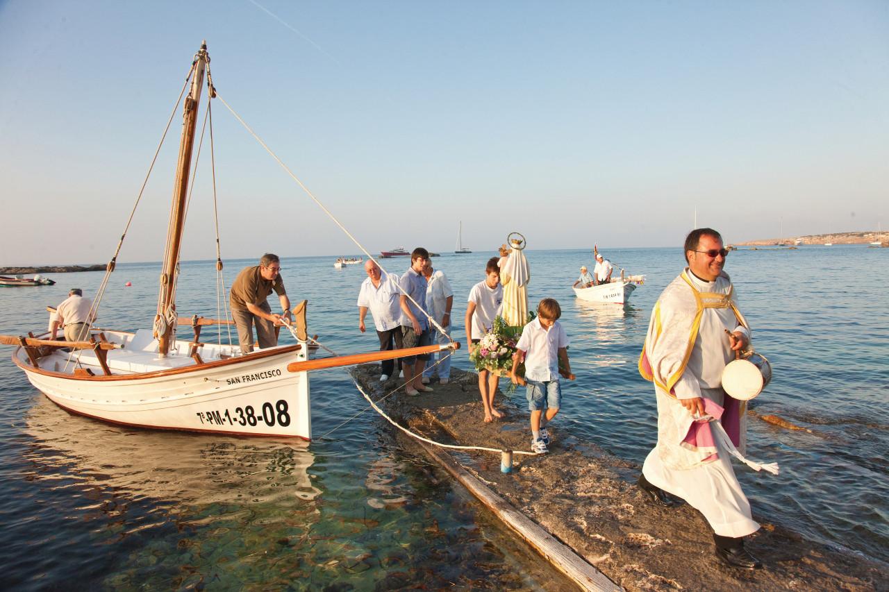 Procession del Carme (Formentera).
