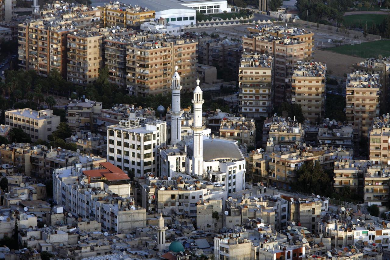 Survol de la ville de Damas. (© Urf - iStockphoto))