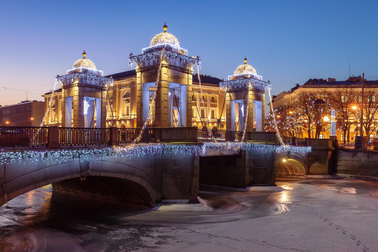 Pont Lomonossov. (© Anna Pakutina - Adobe Stock))