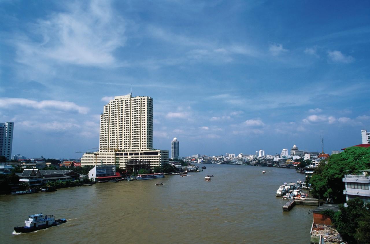 Vue du fleuve Chao Phraya. (© Mickael David - Author's Image))