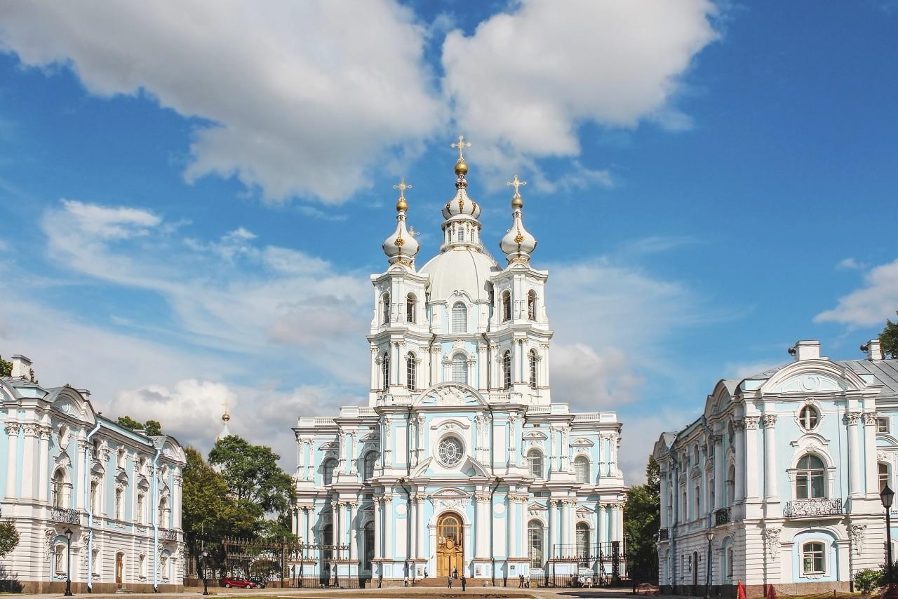 Cathédrale Smolny-de-la-Résurrection. (© Kateryna Synelnyk - Shutterstock.com))
