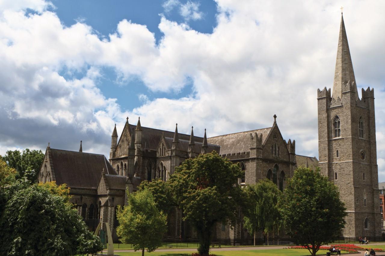 Saint Patrick's Cathedral fut érigée en 1191. (© Lawrence BANAHAN - Author's Image))