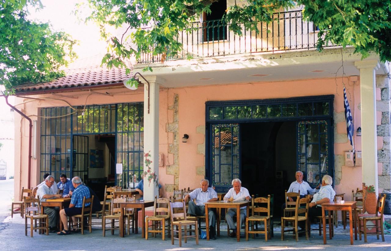 Kafeneion de Kritsa. (© Author's Image))