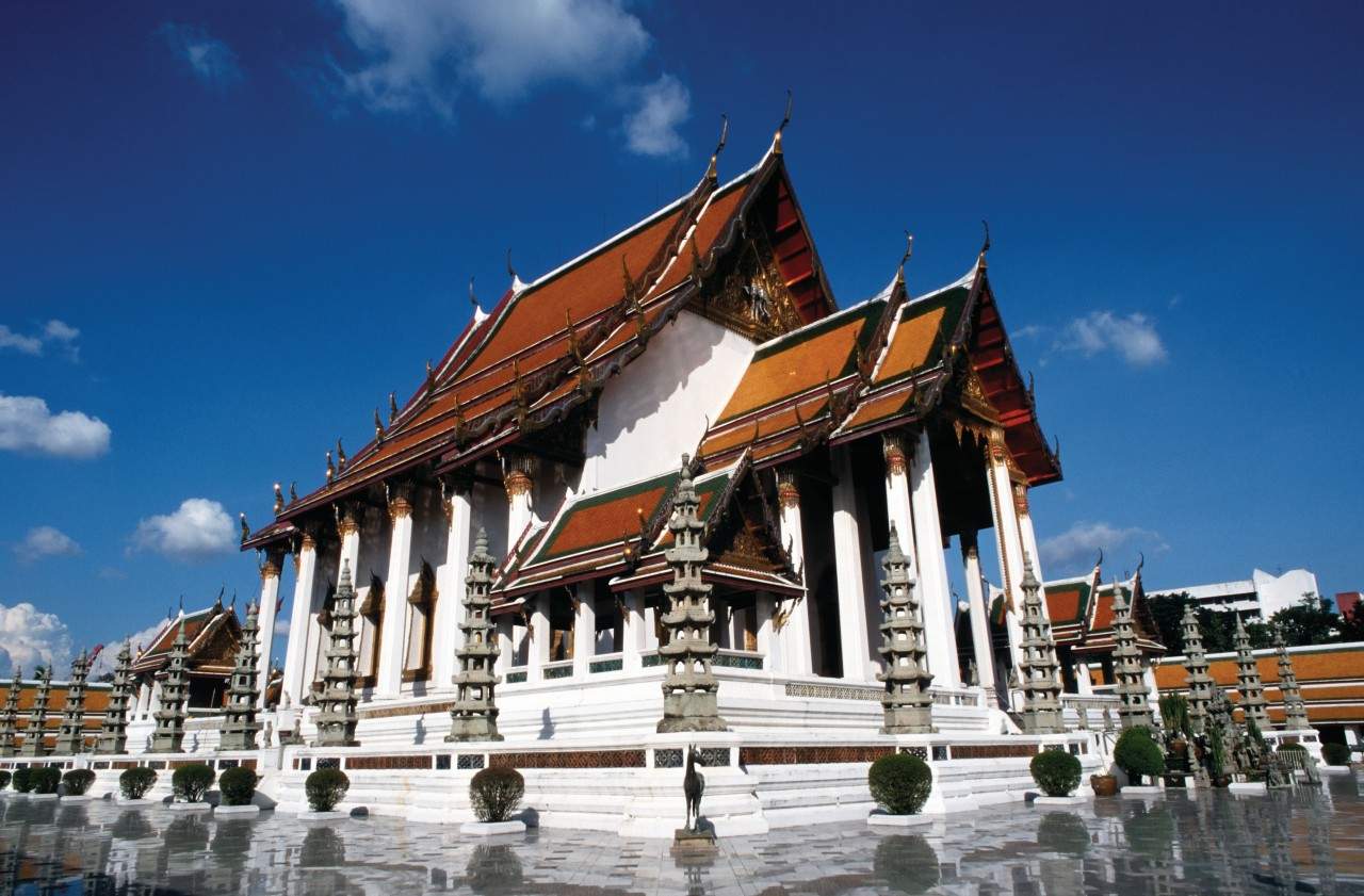 Wat Suthat. (© Mickael David - Author's Image))