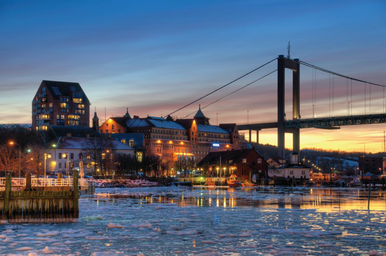 Night Gothenburg.