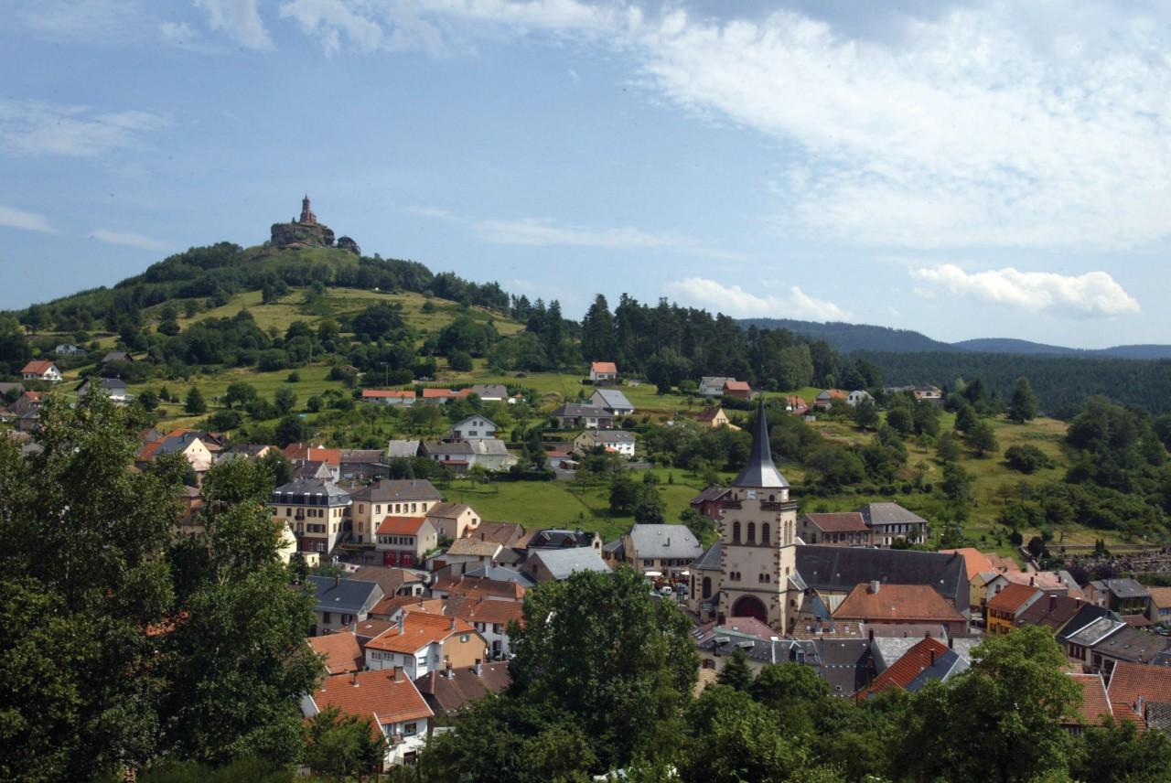 La commune de Dabo (© Jean-Claude Kanny - Moselle Tourisme))