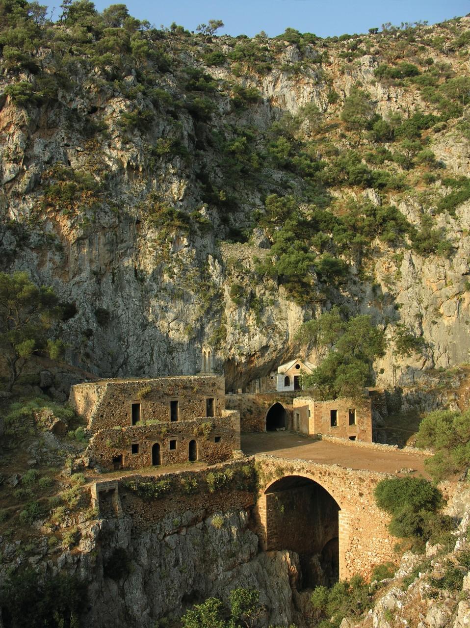Le monastère de Katoliko, Akrotiri. (© JeanBienvenu - iStockphoto))
