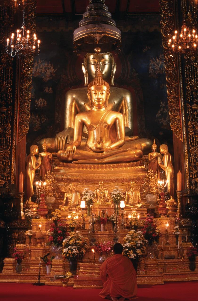 Wat Bowonniwet. (© Mickael David - Author's Image))