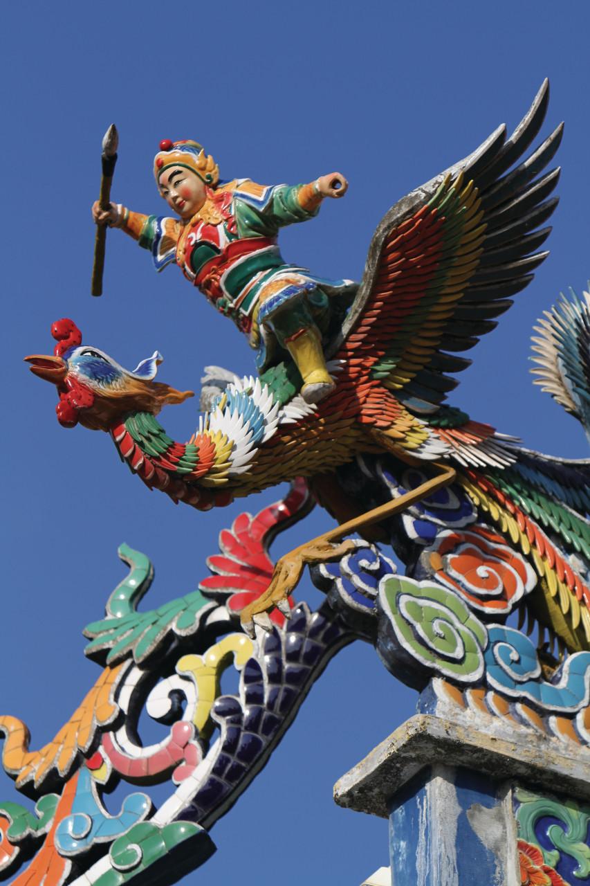 Temple chinois de Tua Pek Kong, plus ancien temple chinois de Kuching (© Stéphan SZEREMETA))
