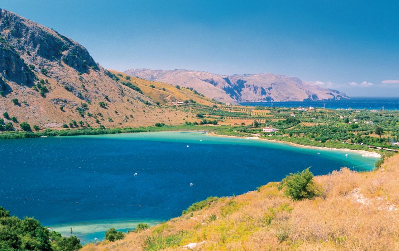 Lac de Kournas. (© Author's Image))