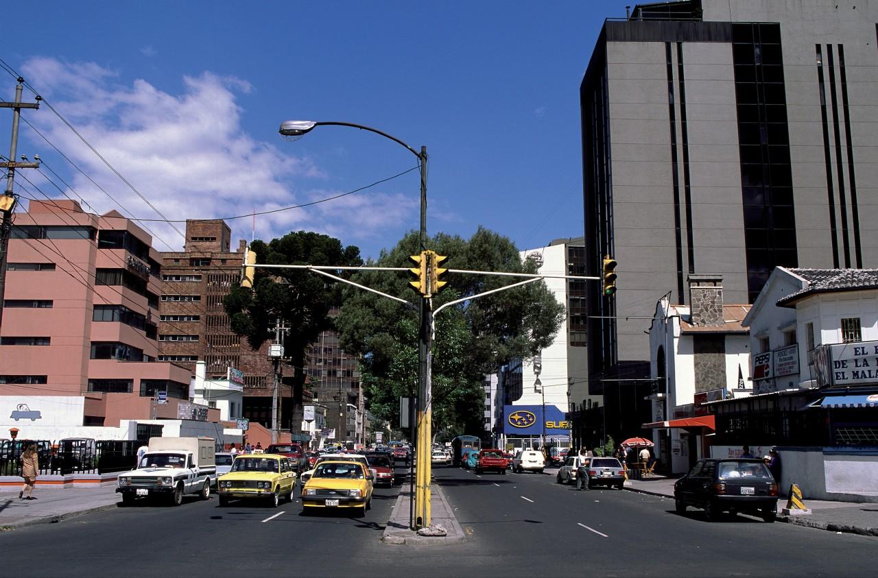Carrefour de Quito. (© Author's Image))