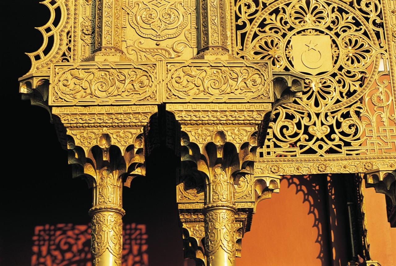 Mosquée Mohammed Ali au coeur de la citadelle. (© Tom Pepeira - Iconotec))