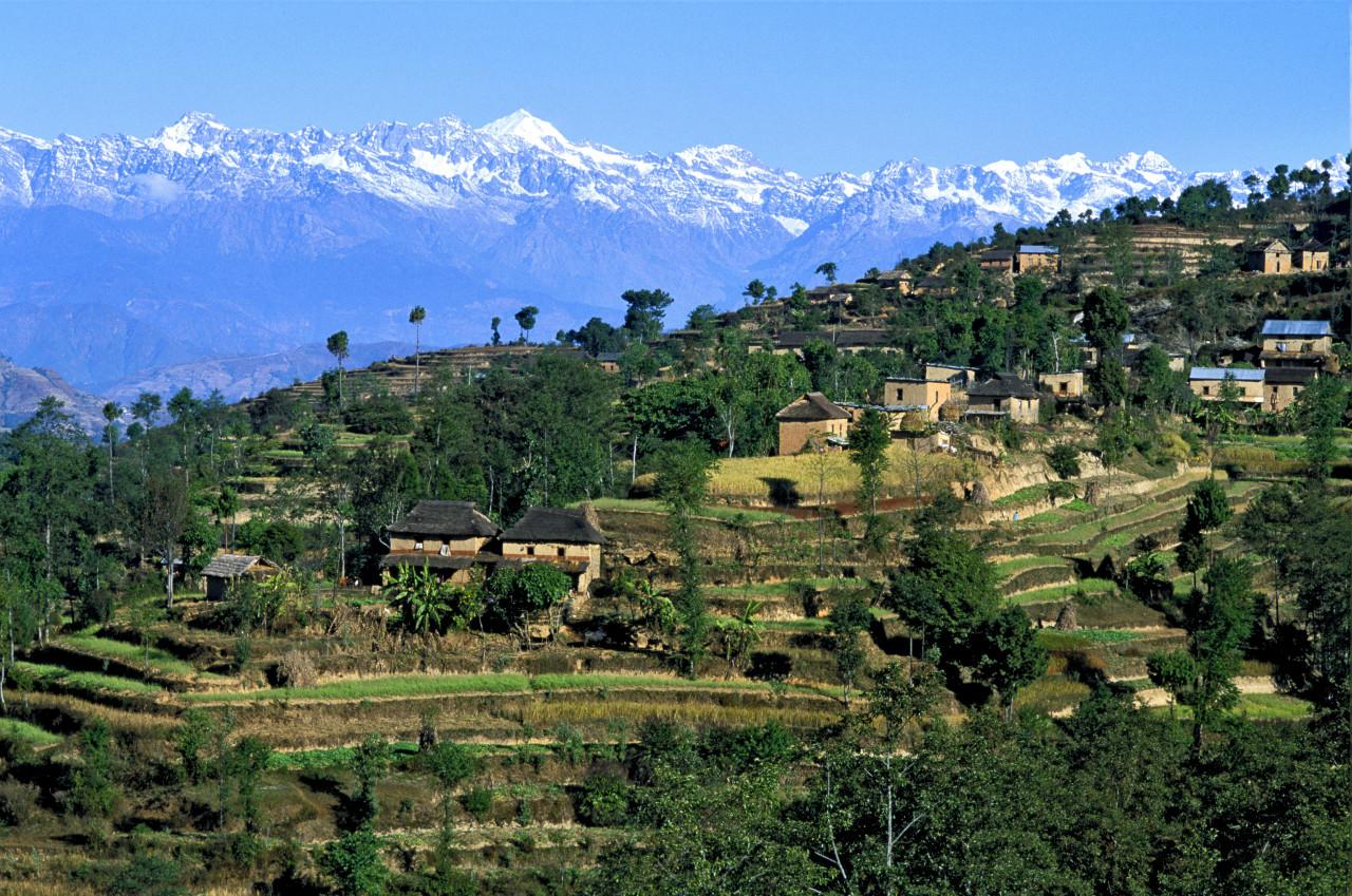 Vallée de Katmandou. (© HUGO CANABI - ICONOTEC))