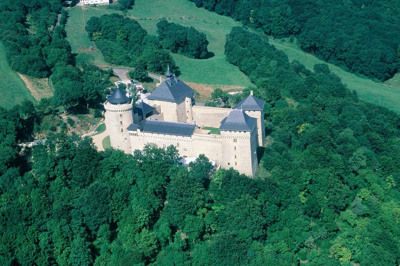 Château de Malbrouck à Manderen (© ERWAN LE PRUNNEC - ICONOTEC))