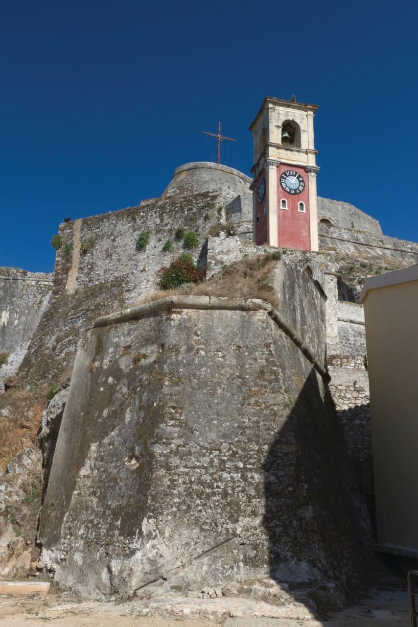 Paléo Frourio, la vieille forteresse vénitienne de Corfou. (© iStockphoto.com/sokol25))