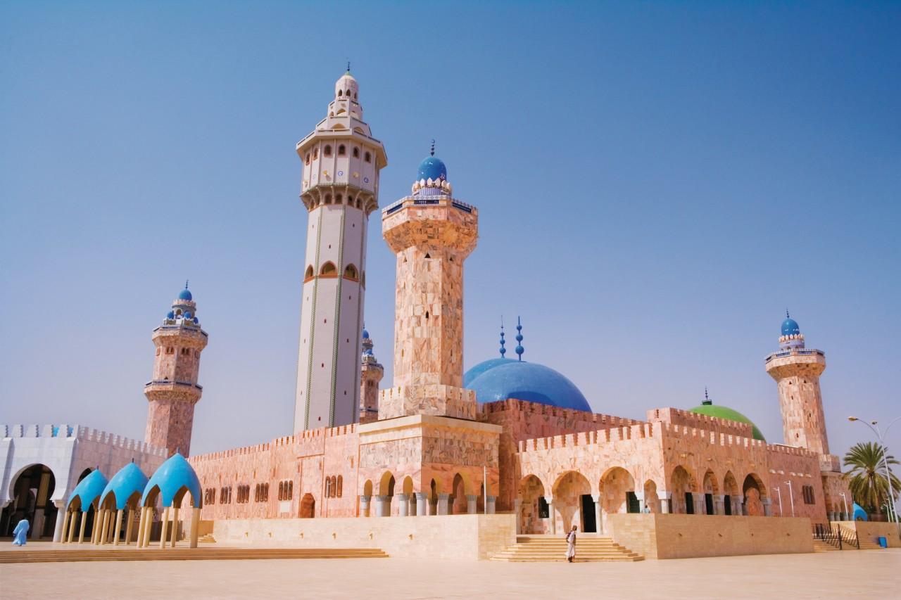 La Grande Mosquée de Touba. (© Author's Image))