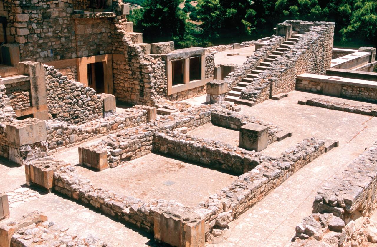 Site minoen de Cnossos. (© Author's Image))