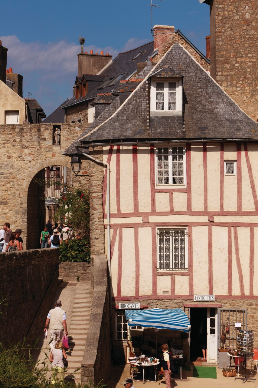 La vieille ville de Vannes. (© Irène Alastruey - Author's Image))