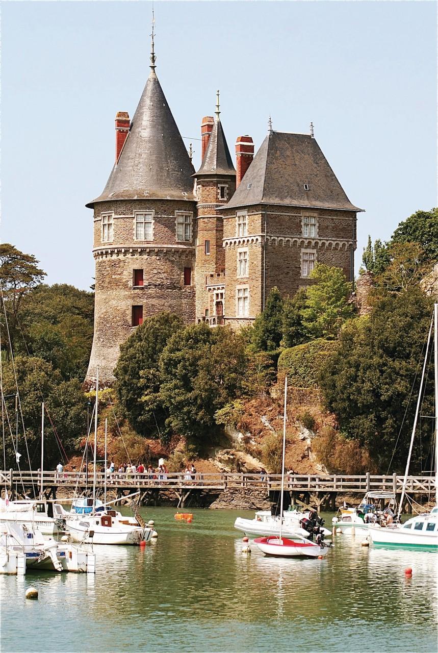 Le château de Pornic (© Arnaud TAFILET - Fotolia))