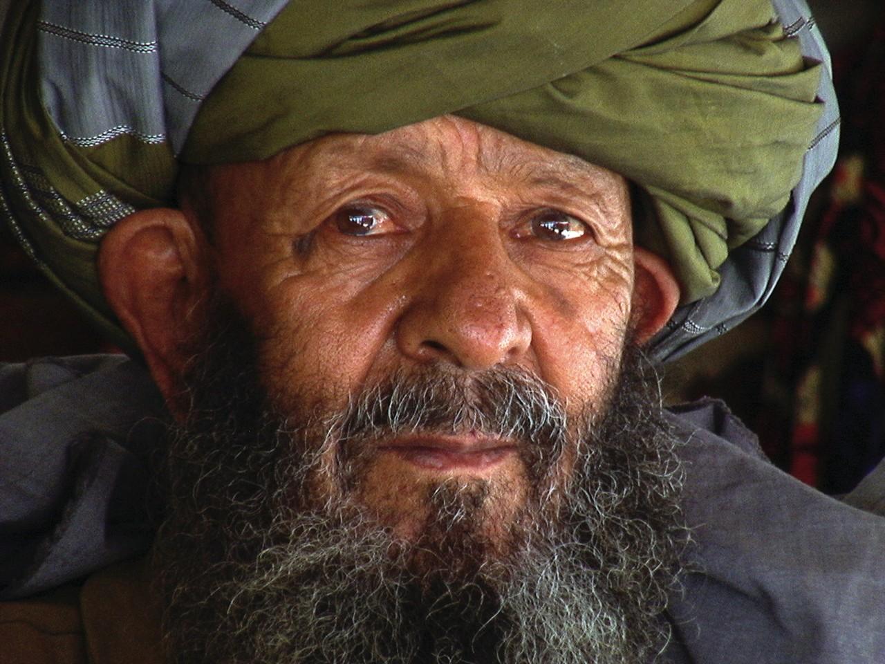 Portrait of Afghan.