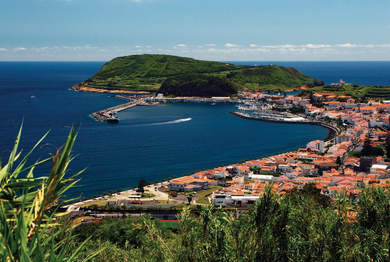 Port de Horta, île de Faial.