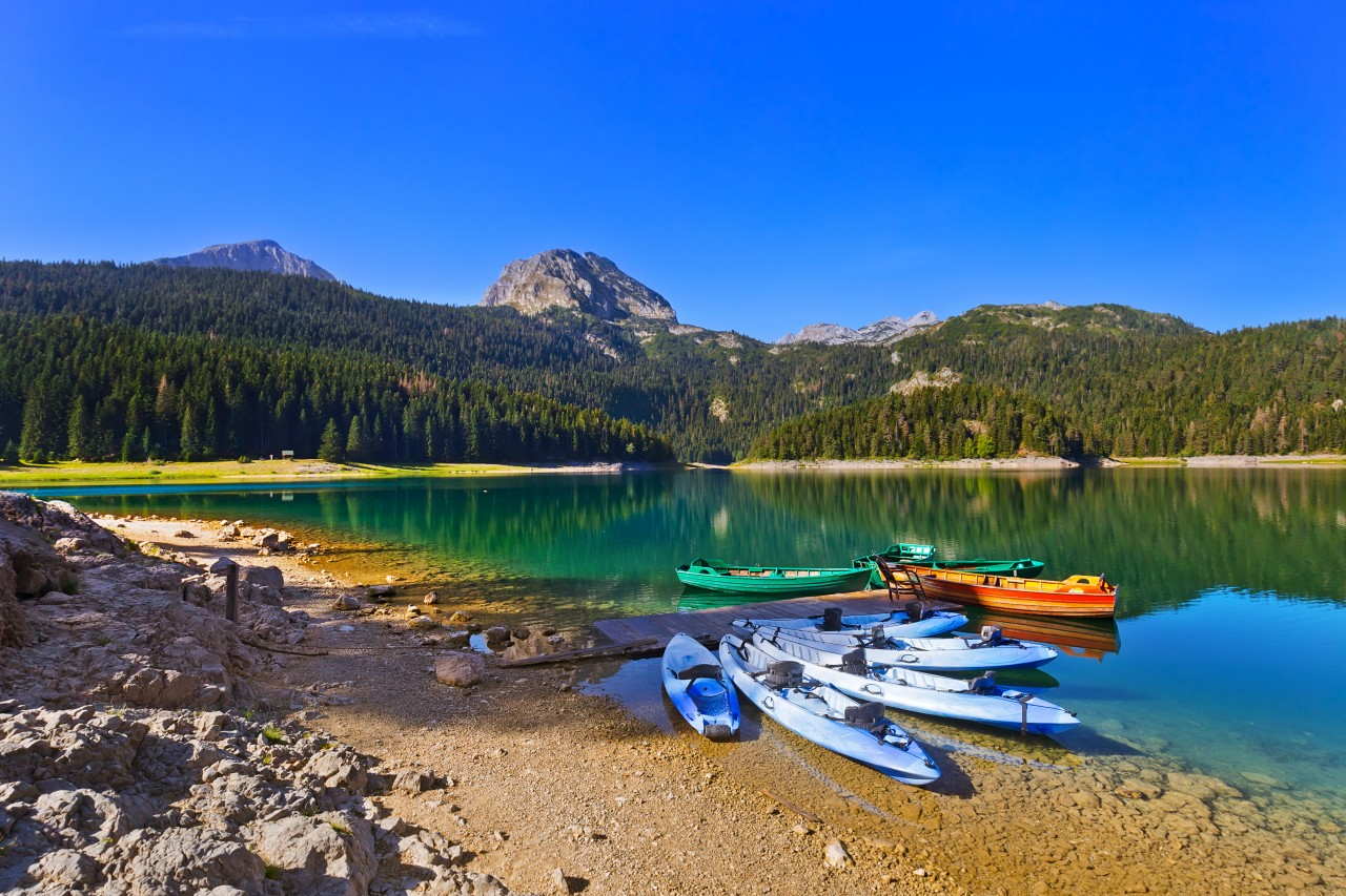 Le lac noir.