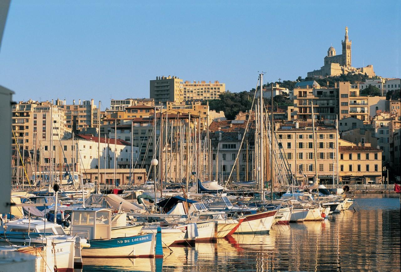 Vue du Vieux Port de Marseille (© TOM PEPEIRA - ICONOTEC))