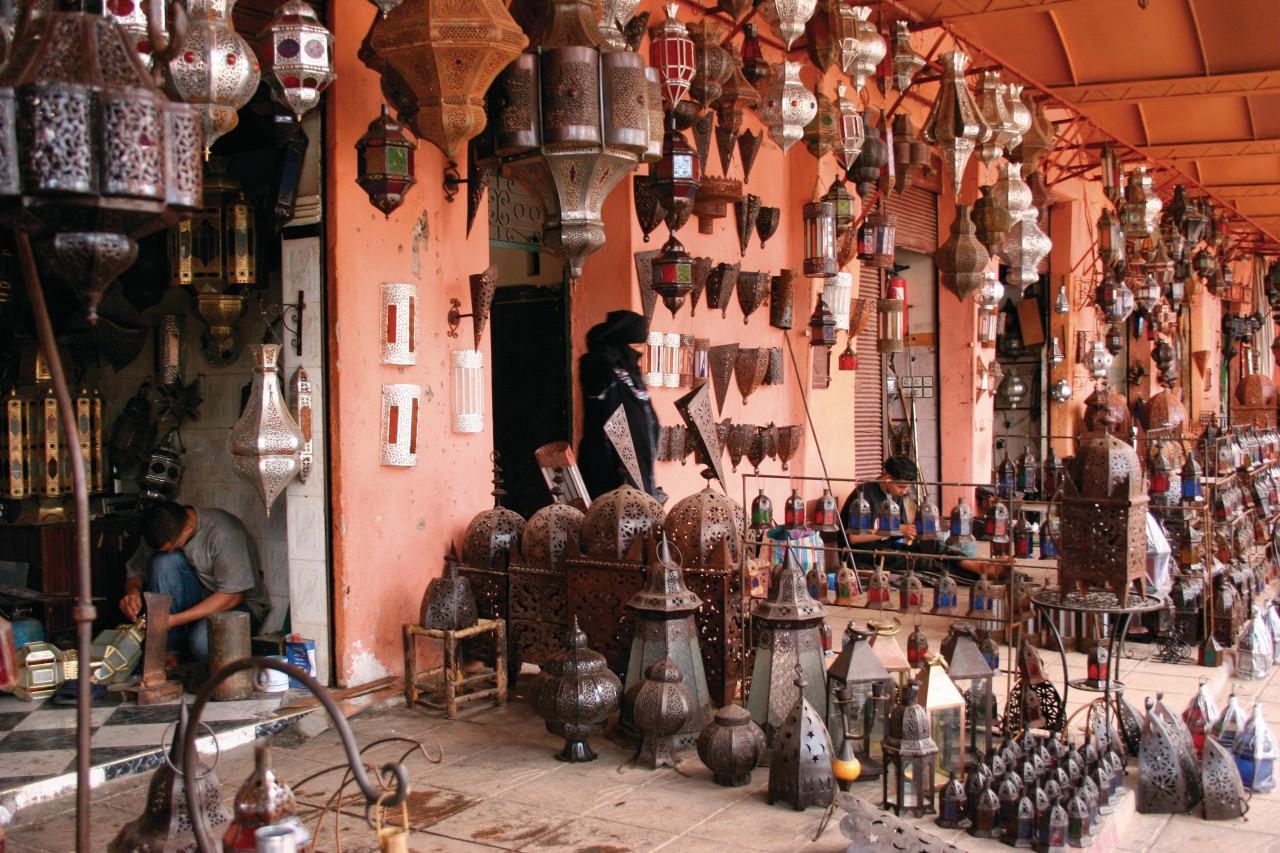Commerces dans le souk. (© Eloïse BOLLACK))