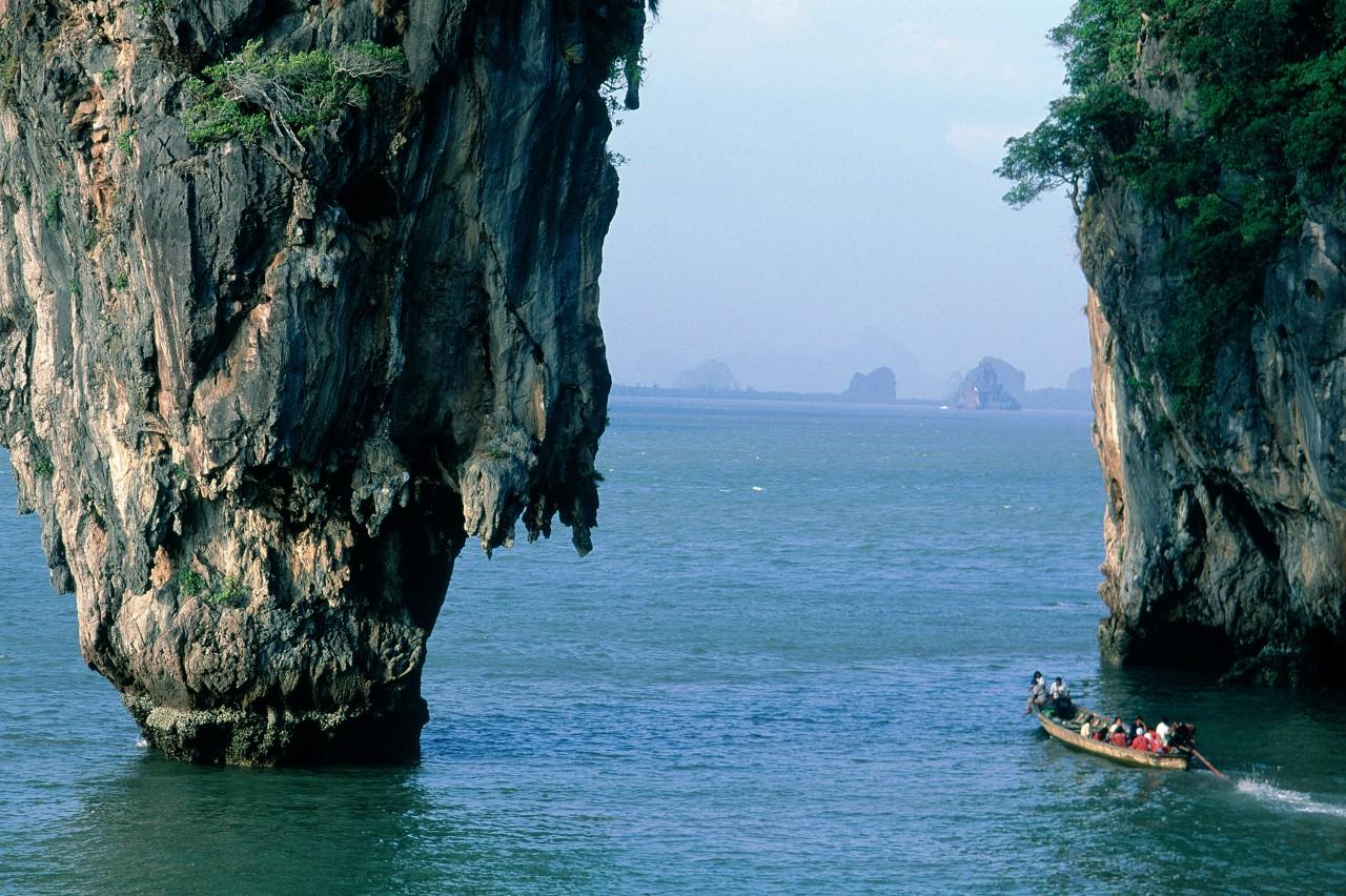Baie de Phang Nga, île de Ko Tapu. (© Eric Martin - Iconotec))