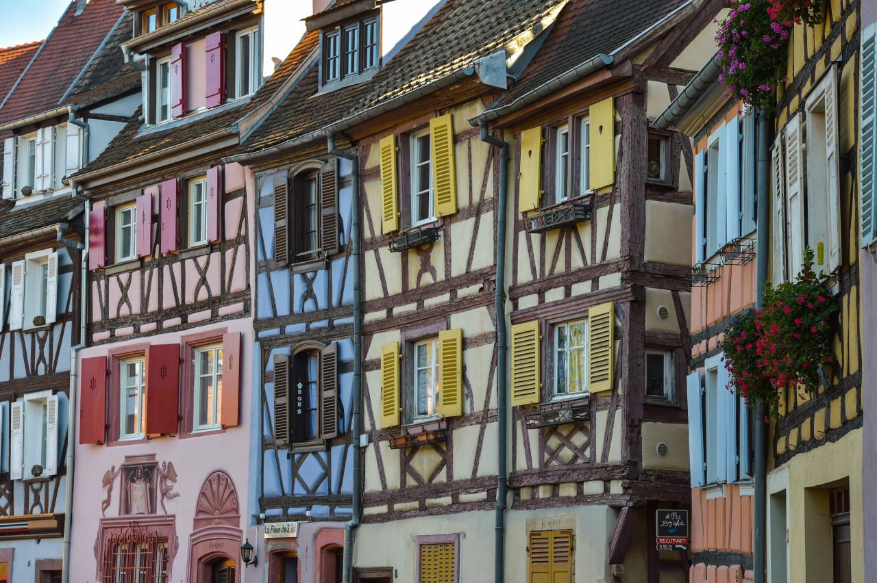 Les façades colorées de Colmar. (© FreeProd / Adobe Stock))