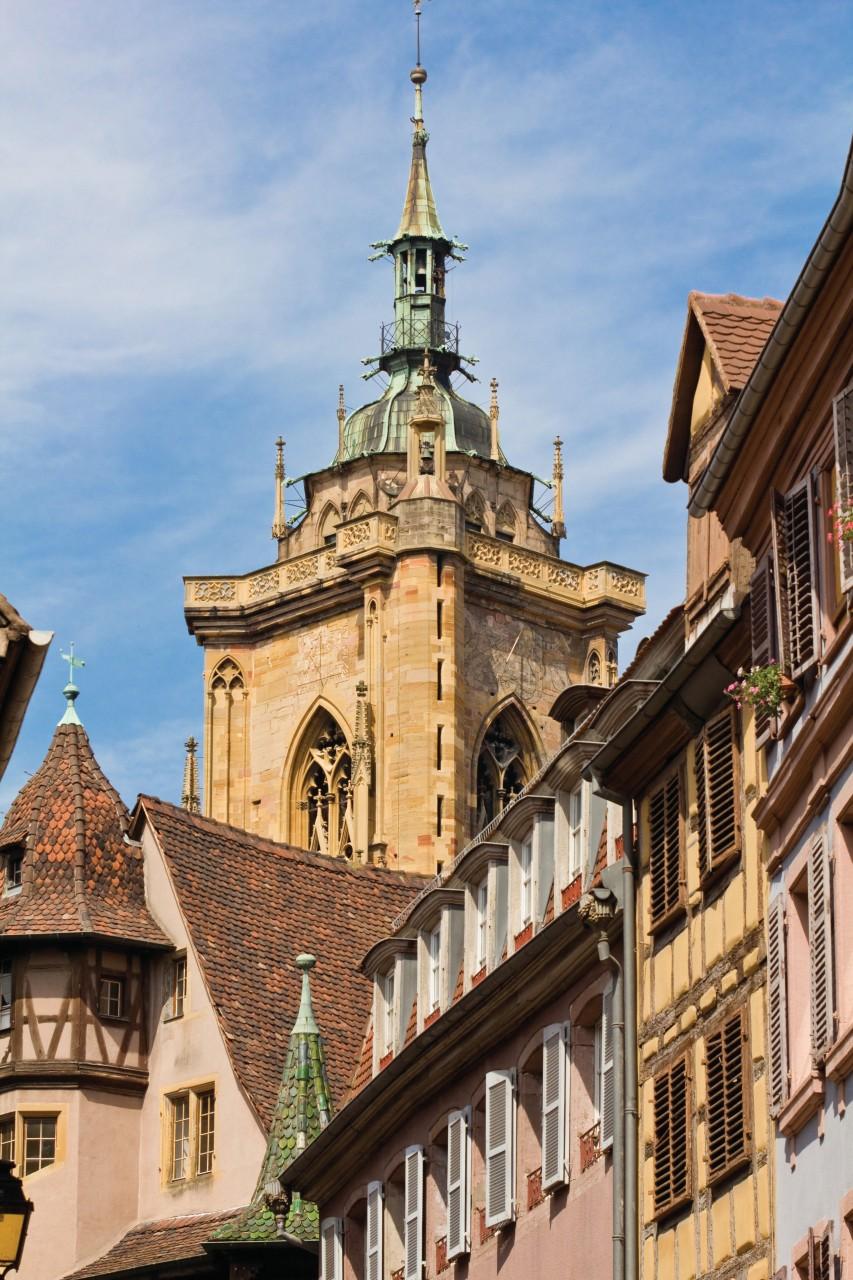 Colmar, vue sur la cathédrale. (© MichalLudwiczak))