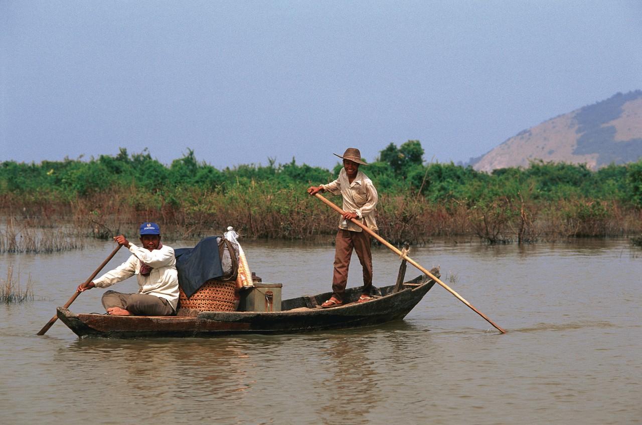 Sur le lac Tonlé Sap. (© Author's Image))