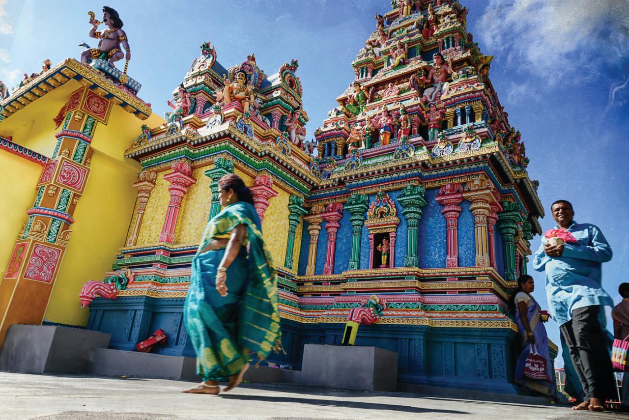 Temple tamoul.