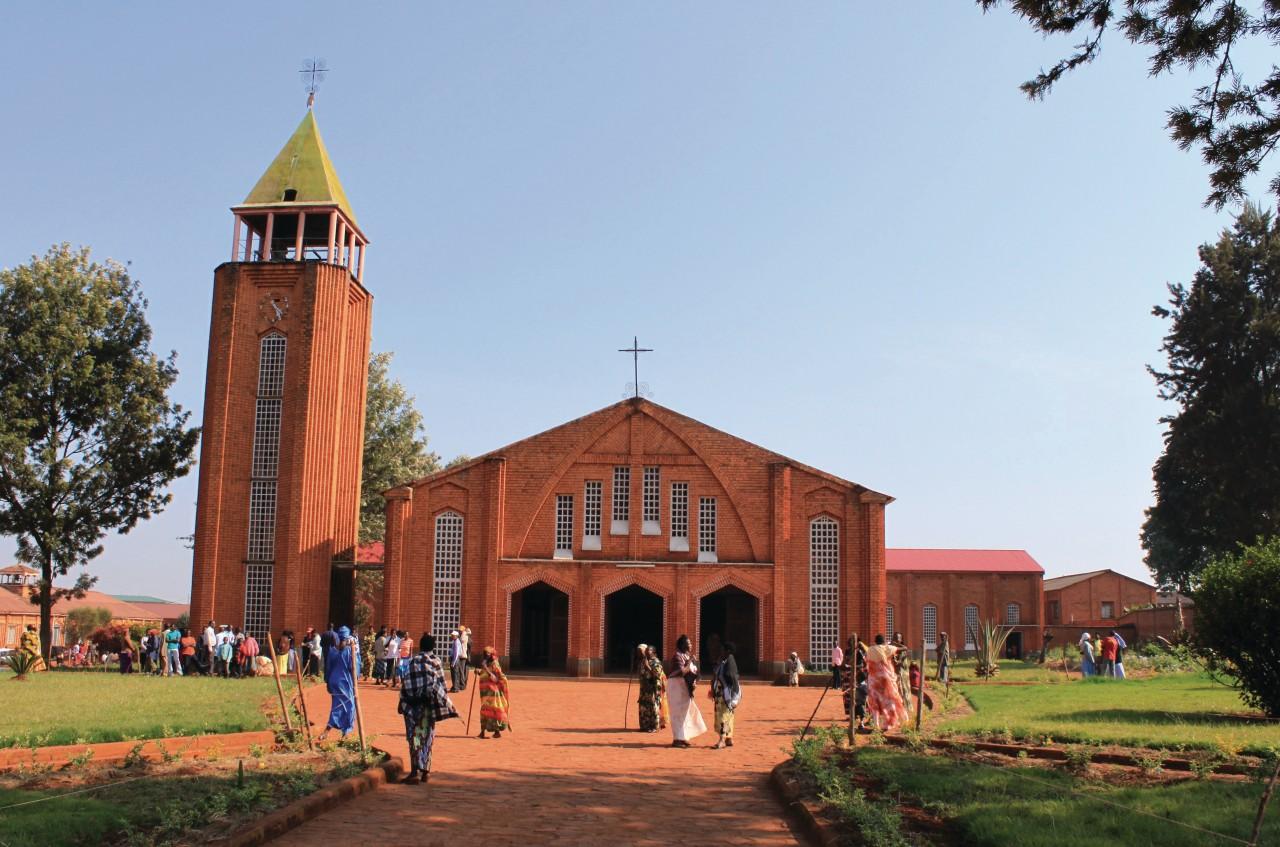 La cathédrale de Ngozi. (© Pierre DUMONT))